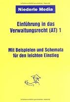 Einführung in das Verwaltungsrecht (AT)…