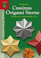 Cussinus Origami Sterne: 3D Sterne für…