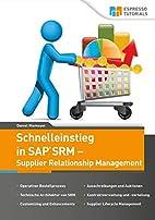 Schnelleinstieg SAP SRM - Supplier…