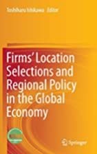 Firms' Location Selections and Regional…
