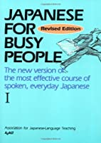 Japanese for Busy People (Volume 1) by…