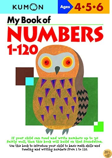 TMy Book Of Numbers 1-120 (Kumon Workbooks)