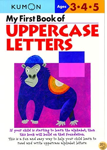 TMy First Book Of Uppercase Letters (Kumon Workbooks)