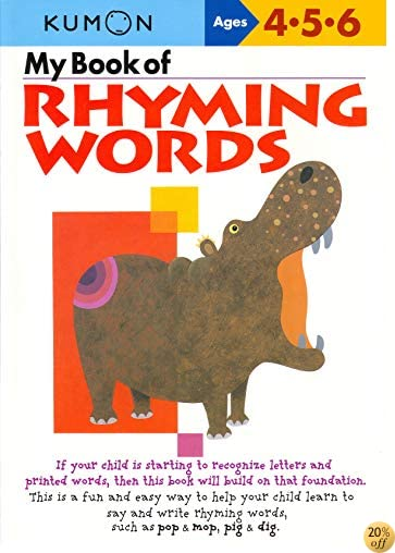 TMy Book Of Rhyming Words (Kumon Workbooks)
