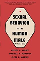 Sexual Behavior in the Human Male, Volume 1…