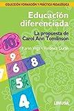 DURAN: EDUCACION DIFERENCIADA, LA PROPUESTA DE CAROL ANN TOMLINSON