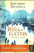 Rina de Gatos, Madrid 1936 (Spanish Edition)…