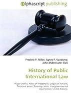 History of Public International Law: Hugo…