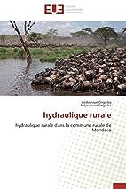 hydraulique rurale: hydraulique rurale dans…
