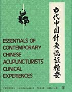 Essentials of Contemporary Chinese…