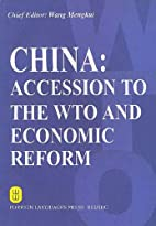 China: Accession To The WTO And Economic…
