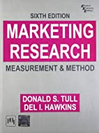Marketing Research: Measurement and Method…