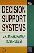 Decision Support Systems by Janakiraman V.S