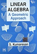 Linear Algebra by S. Kumaresan