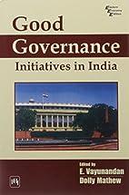 Good Governance by E. Vayunandan