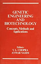 Genetic Engineering and Biotechnology:…