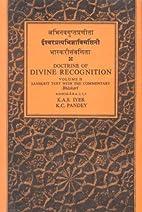 Isvara-Pratyabhijna-Vimarsini of…