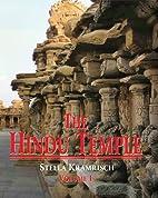 The Hindu temple vol - 1 by Stella Kramrisch
