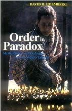 Order in Paradox by David Holmberg