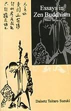 Essays in Zen Buddhism (Third Series) by…