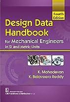 Design Data Handbook for Mechanical…