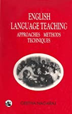 English Language Teaching: Approaches,…