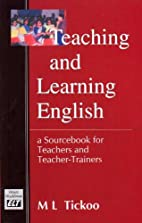 Teaching and Learning English: A Sourcebook…