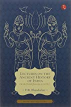 Lectures on the Ancient History of India by…