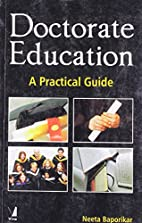 Doctorate Education: A Practical Guide by…