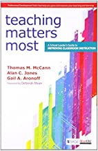 TEACHING MATTERS MOST by Mccann