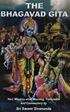 The Bhagavad Gita by Anonymous