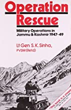 Operation Rescue: Military Operations by S.…