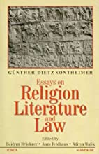 Essays on religion, literature, and law by…