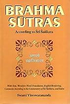 Brahma-Sutras by Swami Vireswarananda