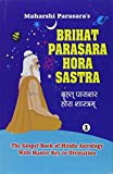 Maharshi Parasara: Brihat Parasara Hora Sastra of Maharshi Parasara (2 Volume Set): The Gospel Book of Hindu Astrology With Master Key to Divination