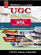 UGC Net/Set for Lectureship Exam by Various…