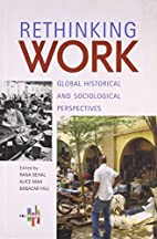 Rethinking Work. Global Historical and…