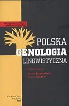 Polska genologia lingwistyczna by Danuta…