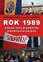 Rok 1989 koniec spoleczenstwa…