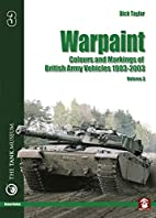 Warpaint : colours and markings of British…