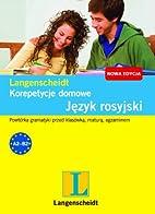 Język rosyjski : korepetycje domowe by…