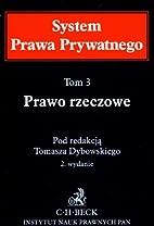Prawo rzeczowe by Tomasz Dybowski