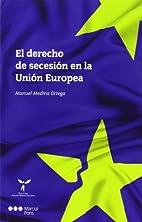El derecho de secesión en la…