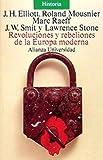 Mousnier, Roland: Revoluciones y rebeliones de la Europa Moderna/ Revolutions and Rebelions of Modern Europe (Spanish Edition)