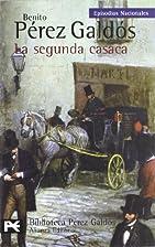 La segunda casaca by Benito Pérez-Galdós