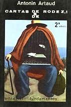 Cartas desde Rodez (1943-1944) by Antonin…