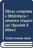 Juan Manuel: Obras completas (Biblioteca romanica hispanica) (Spanish Edition)