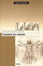 Filosofia del Hombre (Spanish Edition) by…