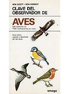 Clave del Observador de Aves by Bob Scott