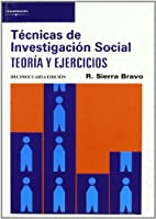 Tecnicas Investigacion Social - 13b0 Edicion…